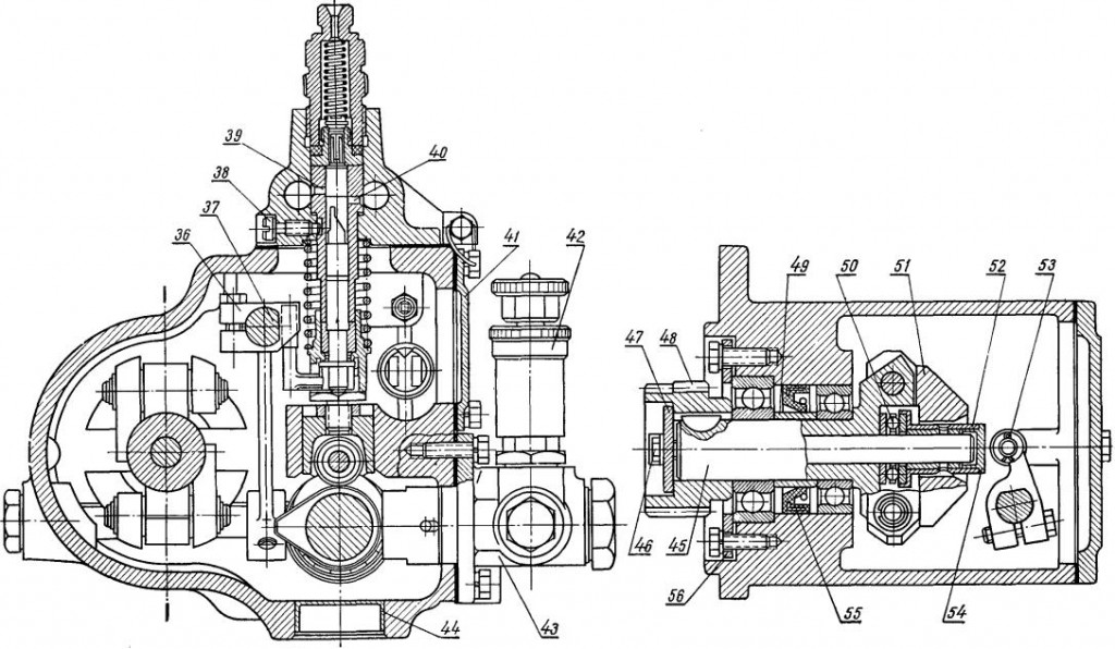 Топливный насос трактора МТЗ-80 | Советские мотоциклы