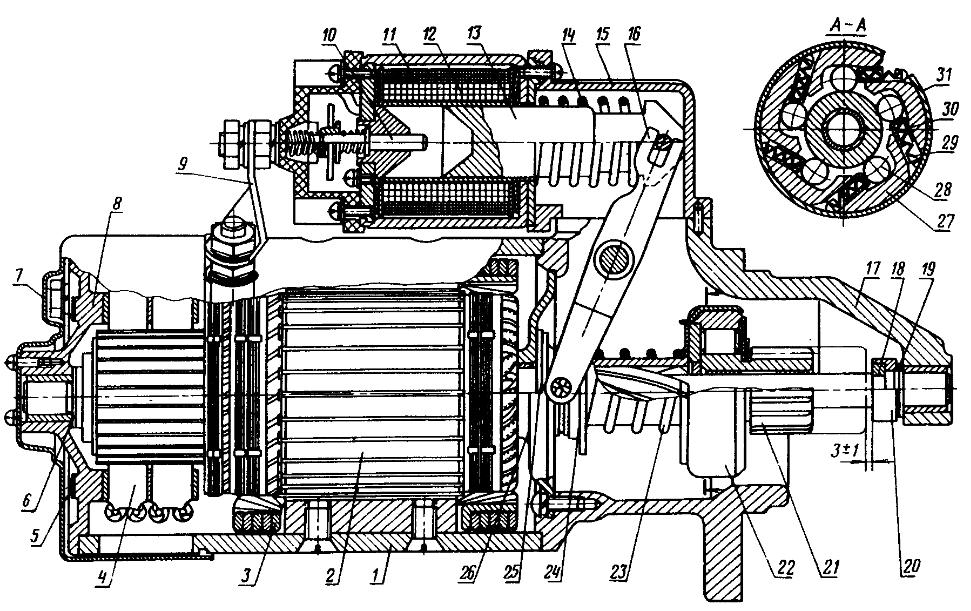 Стартер СТ212-А