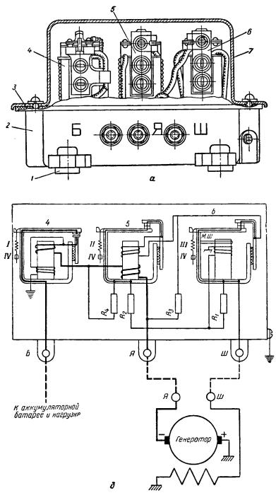 Реле-регуляторы РР-80 и РР-80Б