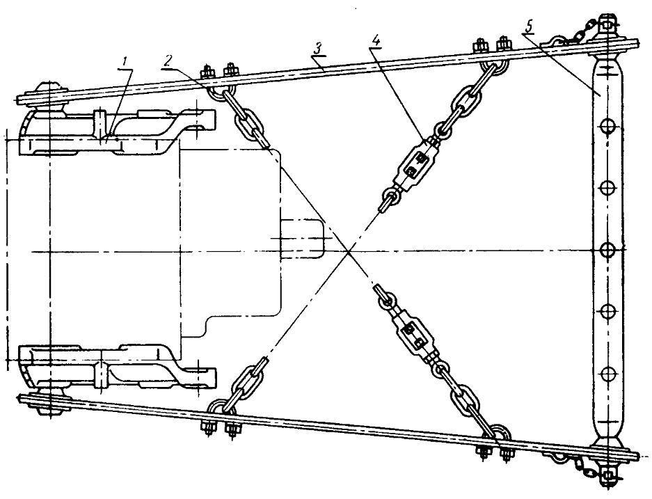 Трактор ДТ-20. Блокировка продольных тяг