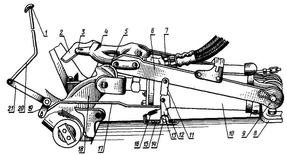 Трактор МТЗ-80, МТЗ-82. Механизм фиксации навесных машин