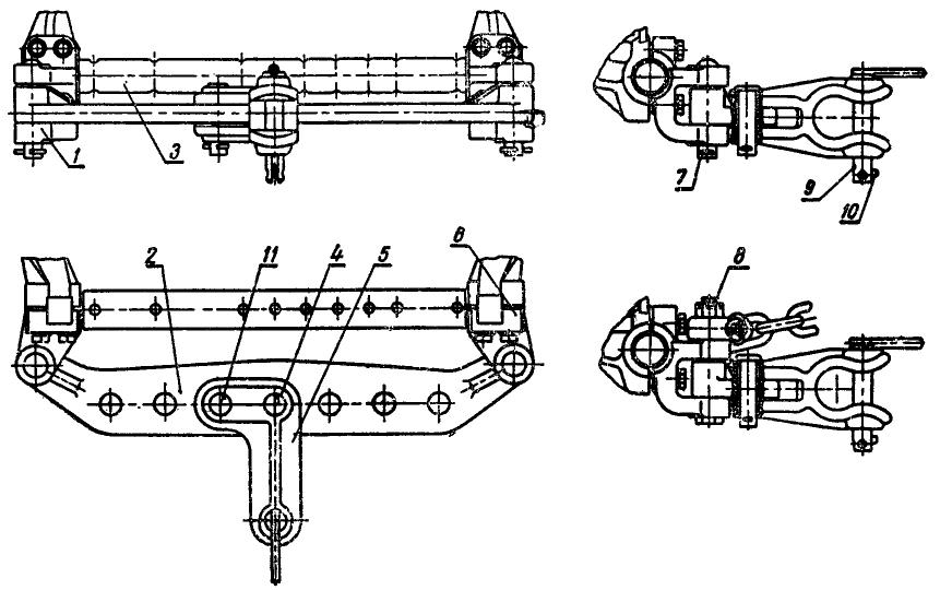 Трактор ДТ-75. Прицепное устройство
