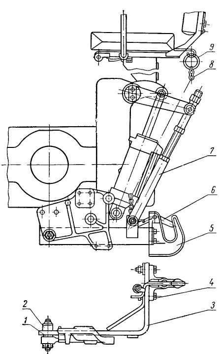 Трактор Т-25. Прицепное устройство