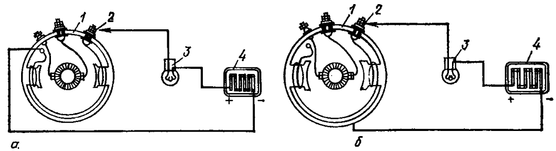 Проверка обмотки возбуждения генератора