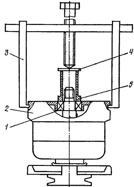 Снятие задней крышки генератора