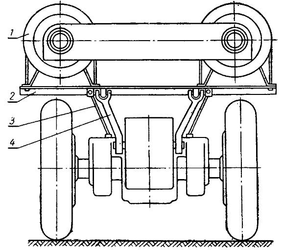 Установка заднего кронштейна резервуаров на трактор Т-25